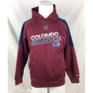 Reebok Shirts & Tops - Reebok NHL Colorado Avalanche Hoodie Sweatshirt